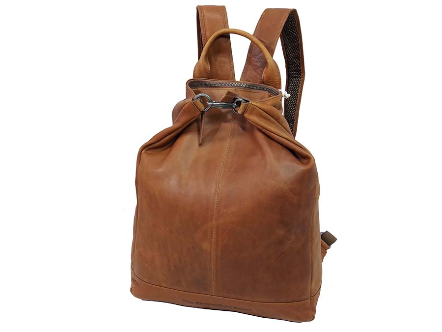 5b4678fda5 THE CHESTERFIELD BRAND CASUAL ΔΕΡΜΑΤΙΝΟ ΣΑΚΙΔΙΟ ΠΛΑΤΗΣ backpack C58.0141  ΤΑΜΠΑ
