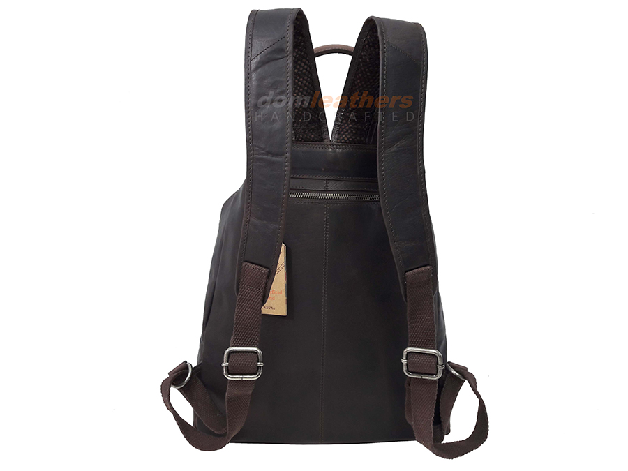THE CHESTERFIELD BRAND CASUAL ΔΕΡΜΑΤΙΝΟ ΣΑΚΙΔΙΟ ΠΛΑΤΗΣ backpack C58.0141  ΚΑΦΕ 9b68e294121