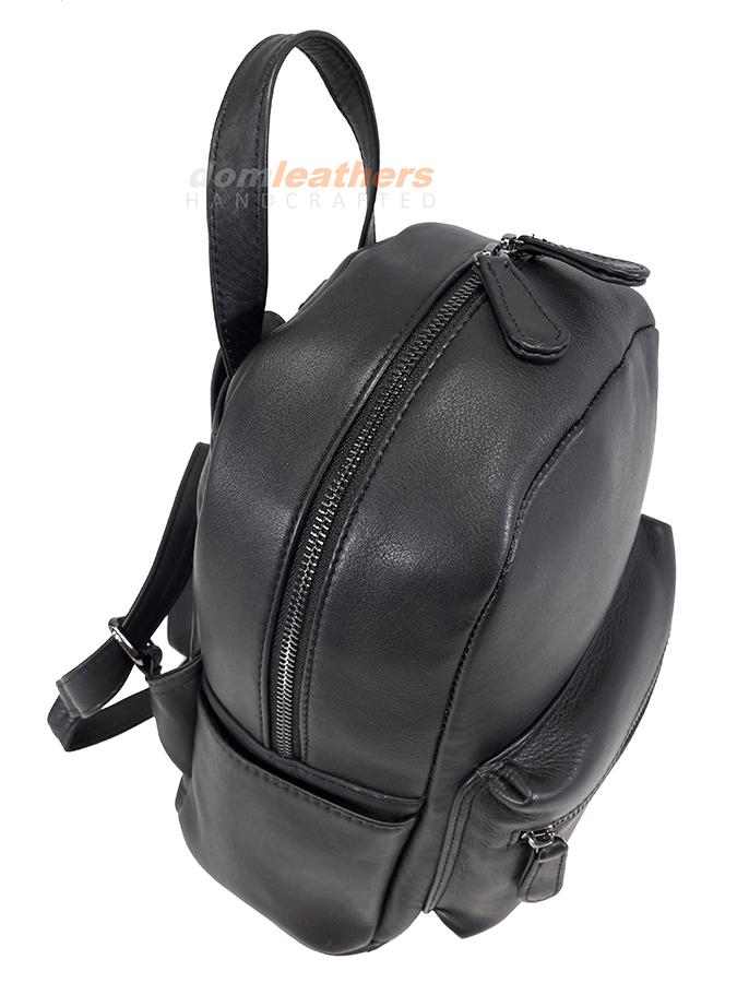 4c011fa7e4 G LEATHER CASUAL ΔΕΡΜΑΤΙΝΟ ΣΑΚΙΔΙΟ ΠΛΑΤΗΣ backpack ΜΙΚΡΟΥ ΜΕΓΕΘΟΥΣ (EXTRA  SMALL) N2 ΜΑΥΡΟ