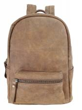 DOMLEATHERS  CASUAL ΔΕΡΜΑΤΙΝΟ ΣΑΚΙΔΙΟ ΠΛΑΤΗΣ backpack DL1141 TAMΠΑ