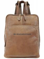 THE CHESTERFIELD BRAND CASUAL ΔΕΡΜΑΤΙΝΟ ΣΑΚΙΔΙΟ ΠΛΑΤΗΣ backpack C58.015031 ΤΑΜΠΑ